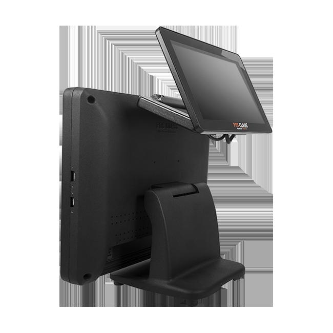 15″ POS PC arka ekranlı